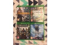 XBOX ONE - 4 GAMES!!