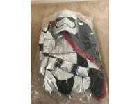 Disney Star Wars captain Phasma costume age 9-10