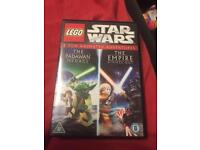 Lego Star Wars dvd's