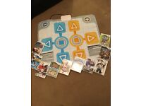 Wii games and Wii family trainer mat