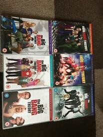 Big Bang dvds
