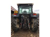 Same Silver 100.6 4WD tractor and Trima loader.