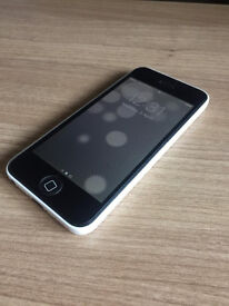 APPLE IPHONE 5C 16GB WHITE ON O2 NETWORK