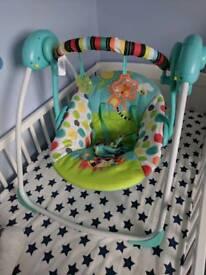 Brighy starts baby swing/rocker chair