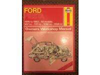 Mk 1 Ford Fiesta Haynes Manual