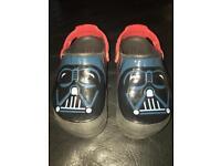 Star Wars Darth Vader Light Up Crocs UK13