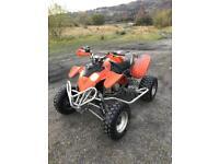 Polaris predator 500cc 2005 great quad in daily use