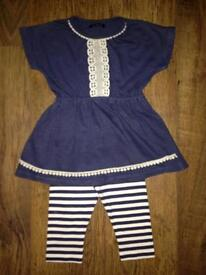 PEP&CO BABY GIRLS OUTFIT