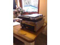 Flat plated Buffalo panini machine As new