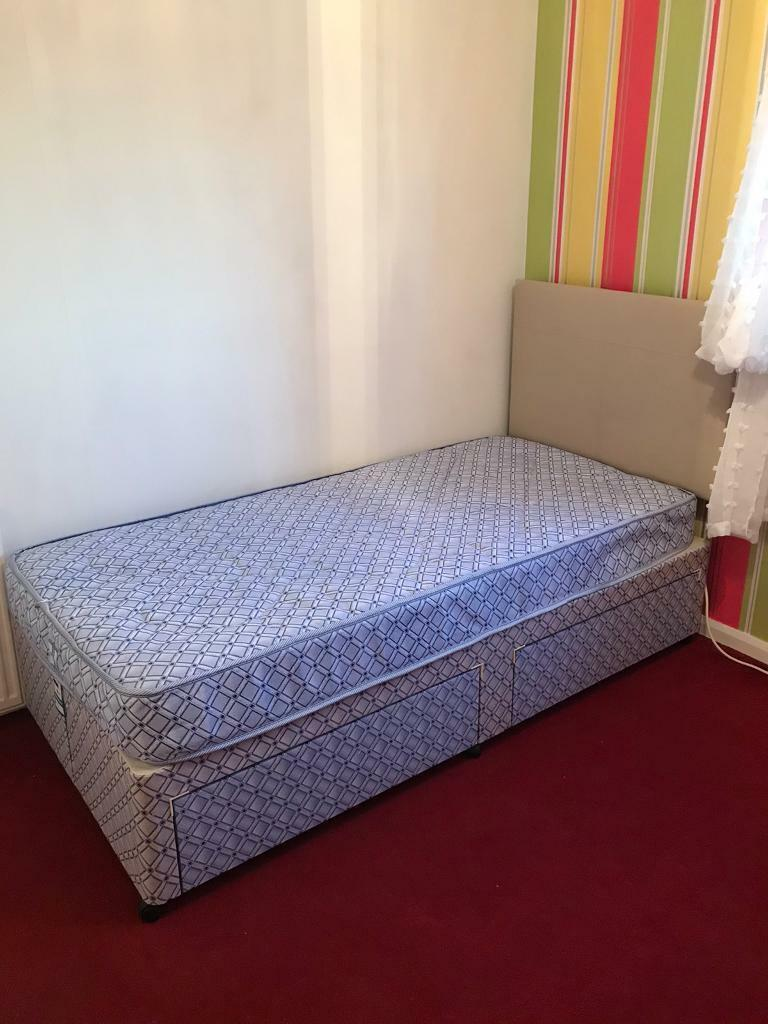 Picture of: Single Divan Bed With Storage 2 Available In South Queensferry Edinburgh Gumtree