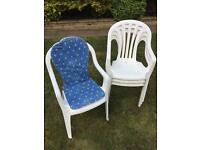 4 Garden/Patio Chairs