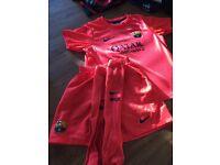 Football Barca away kit size 6-7 as new