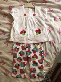 Baby girl new next outfit