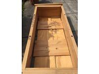 Puerto Rico wood book case