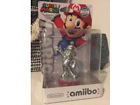 Limited Edition Silver Mario Amiibo