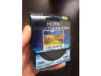 Hoya pro1 polarising lense filter 82mm