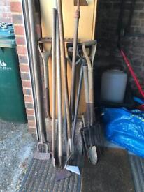 Gardening tools (money going to charity)