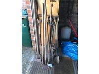 Gardening tools (money going to charity)