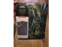 Brand new palms super king size duvet cover Can post for extra £3