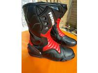 Motorcycle boots 9