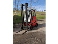Linde H25D 2.5 t Diesel Counterbalance Forklift, 2 stage 4.5 m reach