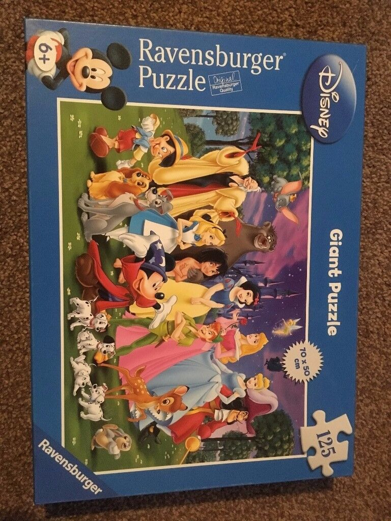 Disney Characters Ravensburger Giant Puzzle £8