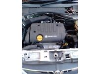 VAUXHALL VECTRA, ASTRA, ZAFIRA, SIGNUM 1.8 PETROL COMPLETE ENGINE CODE: Z18XE
