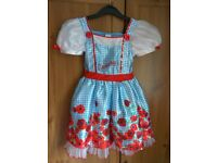 Dress Dorothy The Wizard of Oz 5-6 years