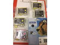 Unused Epsom ink cartridges