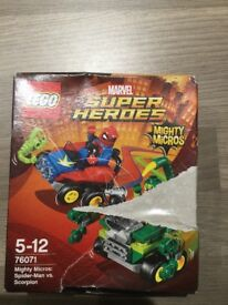 Lego Marvel superheroes mighty micros