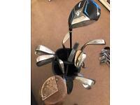 Mizuno golf clubs and bag + extras