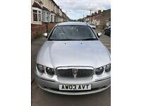 Rover 75 1.8 petrol manual 2003 67,000 silver