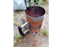 AMOS Barbecue BBQ Charcoal Chimney Starter, for coals