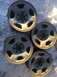 4 roues d acier ford f-150 17 pouces 6 nuts
