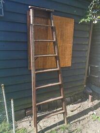 Wooden vintage ladder wedding prop