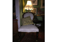 Victorian Bedroom Chair