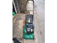 Qualcast 450E Series Petrol Lawnmower
