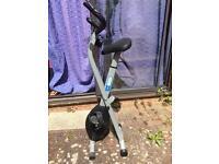 Pro fitness folding excercise bike