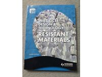 WJEC GCSE design and technology resistant materials text book