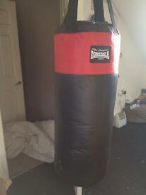 Lonsdale boxing bag set