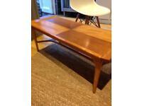 vintage /retro teak coffee table