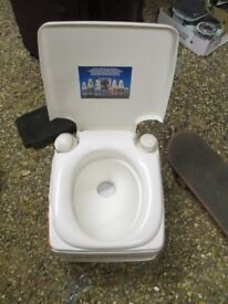 camping toilet to collect