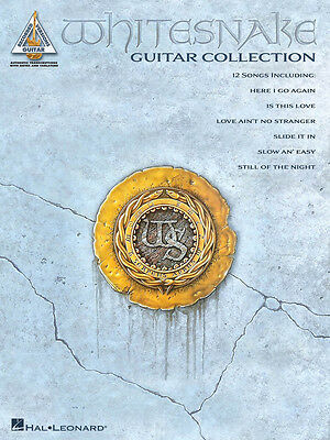 WHITESNAKE GUITAR COLLECTION TAB SHEET MUSIC SONG BOOK