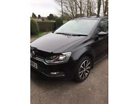 Volkswagen Polo SE 1.0 75PS 5-speed Manual 3 Door 2016 Black Pearlescent
