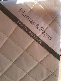 Mamas & papas pocket sprung mattress