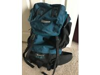 Karrimor large rucksack. Very good condition. Used only once.Discovery 65.