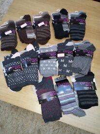 M&S women's socks. 38 pairs brand new. £25 ono.