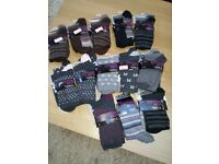 M&S women's socks. 38 pairs brand new. £25 ono.