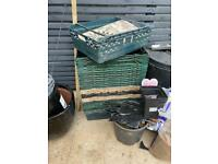 Produce crates x 15