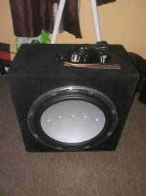 Vibes space d15.4 sub with amp, very good subwoofer high quality